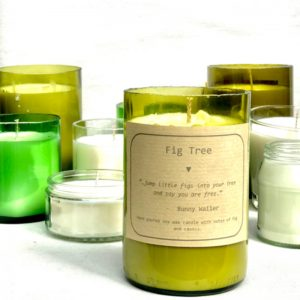 Large Fig Tree Candle