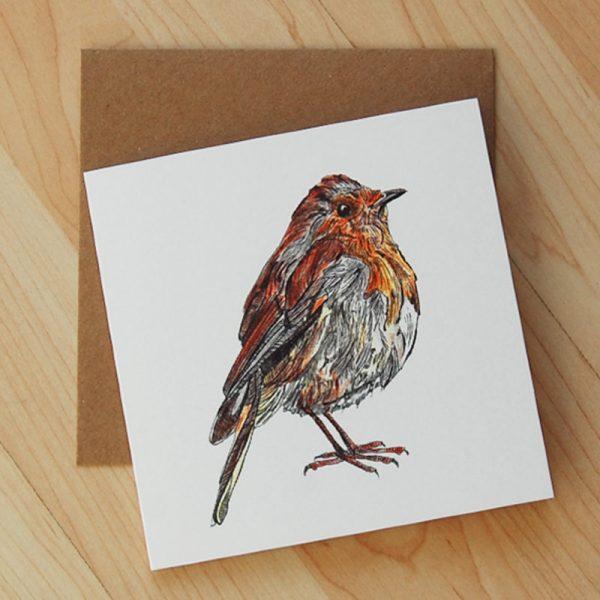 Robin-Blank-Card