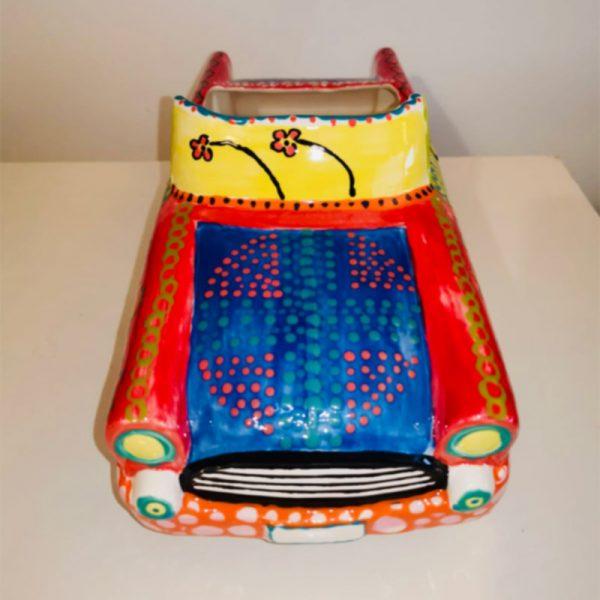 Ceramic Open Top Car