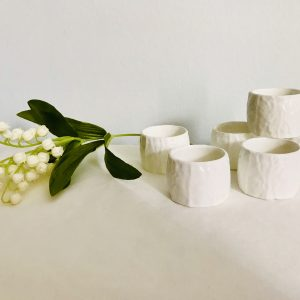 porcelain napkin rings