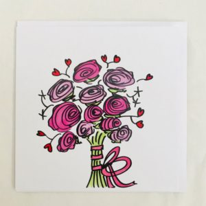 Floral Bouquet Cuddlecard