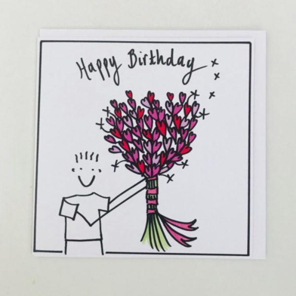 Happy Birthday Cuddlecard