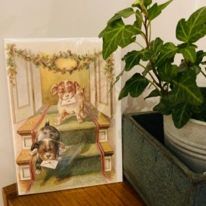 Vintage Puppies Card