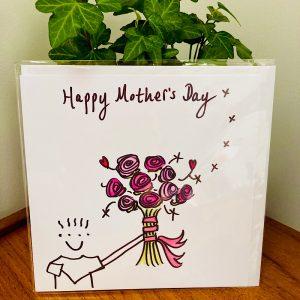 Mothers Day Cuddlecard Boy