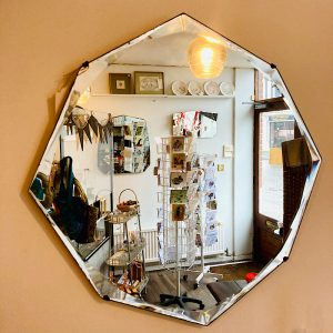 Vintage Octagon Mirror
