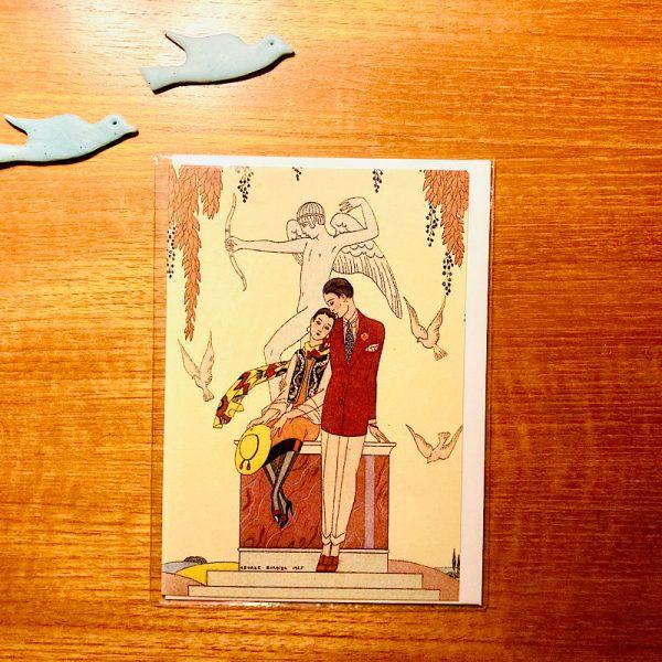 Autumn greetings card