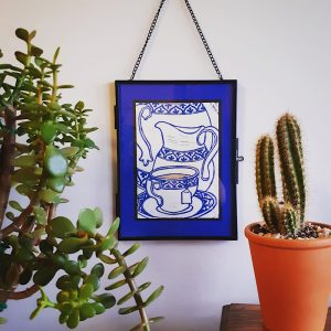 Framed Tea Cup Print