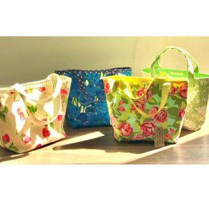 Vintage Fabric Handmade Bags